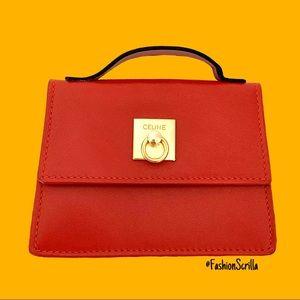 RARE Celine leather purse (micro) Vintage Like New